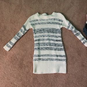 Juniors sweater dress